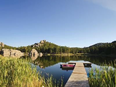 Sylvan Lake, Black Hills National Forest, Custer State Park, South Dakota-Michele Falzone-Photographic Print