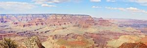 Grand Canyon Panorama I by Sylvia Coomes
