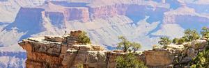 Grand Canyon Panorama III by Sylvia Coomes