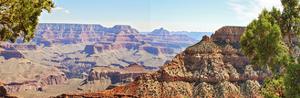 Grand Canyon Panorama IV by Sylvia Coomes