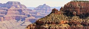 Grand Canyon Panorama V by Sylvia Coomes