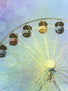 Rainbow Ferris Wheel III by Sylvia Coomes