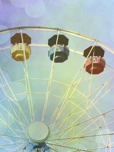 Rainbow Ferris Wheel IV by Sylvia Coomes