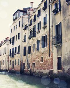 Venice Bokeh III by Sylvia Coomes
