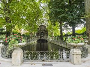 Jardin Du Luxembourg and Fountaine de L'Observatoire by Sylvia Gulin