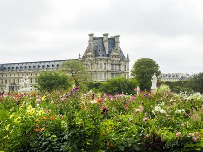 Louvre Museum and Tuileries Garden