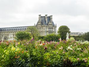 Louvre Museum and Tuileries Garden by Sylvia Gulin