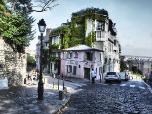Mason Rose Restaurant Montmartre on Rue De L'abreuvior by Sylvia Gulin