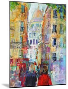 An Evening Walk to Sacre Coeur by Sylvia Paul