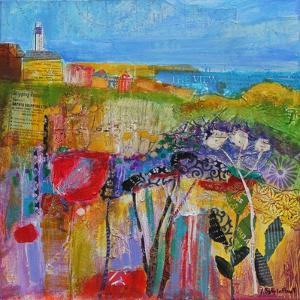 Coastal Meadow 2013 by Sylvia Paul