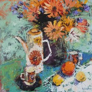 Coffee Pot Still Life by Sylvia Paul