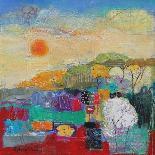 Path Through the Bluebells-Sylvia Paul-Giclee Print
