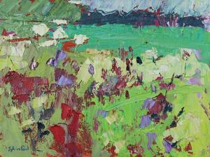 Green Field by Sylvia Paul