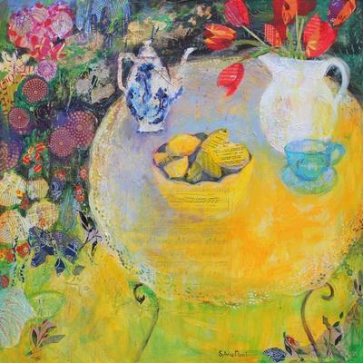 Lemon Tea in the Garden