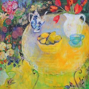Lemon Tea in the Garden by Sylvia Paul