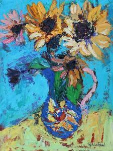 Little Sunflowers by Sylvia Paul