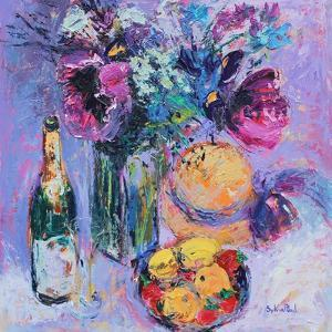 Purple Poppies by Sylvia Paul