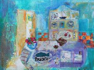 Seaside Kitchen by Sylvia Paul