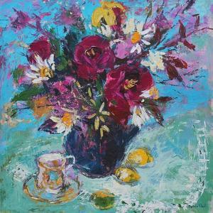 Still Life with Tea Cup, 2013 by Sylvia Paul