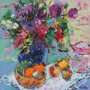 Summer Garden Flowers by Sylvia Paul