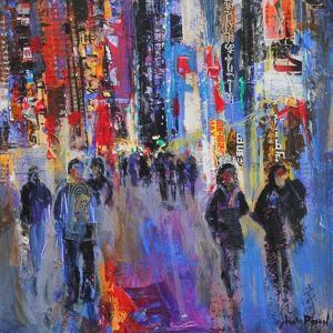 Tokyo Night by Sylvia Paul