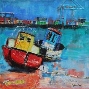 Two Jolly Fishing Boats 2012 by Sylvia Paul