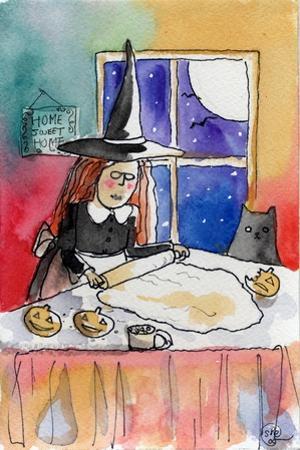 Halloween Baking Night