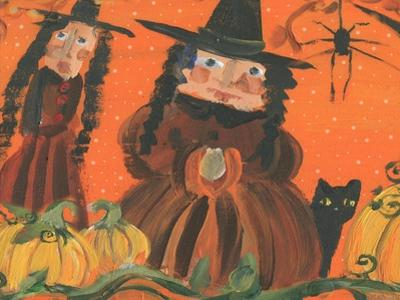 Halloween Witches & Spider