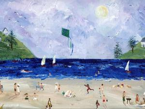 Kite Flying At The Beach by sylvia pimental