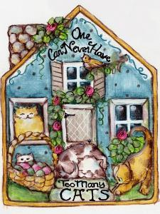 One Can Never Have Too Many Cats by sylvia pimental