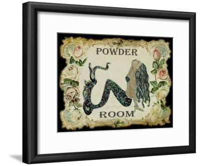 Powder Room Mermaid