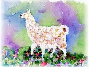 Pretty Llama by sylvia pimental