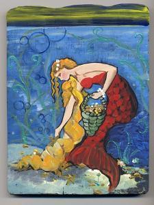 Pretty Red Mermaid by sylvia pimental