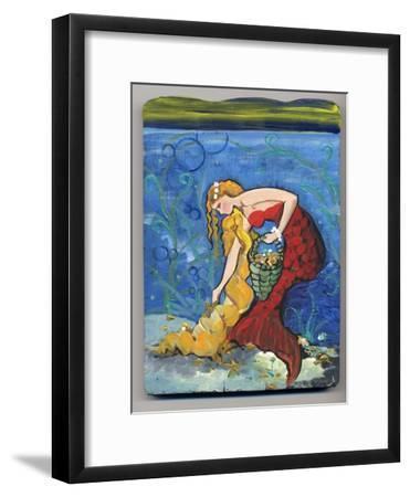 Pretty Red Mermaid