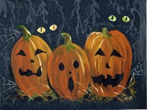 Spooky Eyes Halloween Pumpkins by sylvia pimental