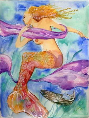 Swimming Mermaid by sylvia pimental