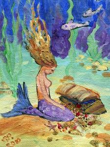 Treasure Chest Mermaid by sylvia pimental