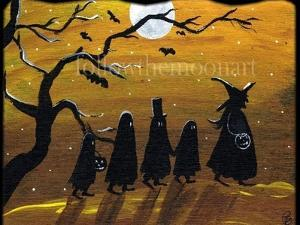 Trick or Treat Night by sylvia pimental