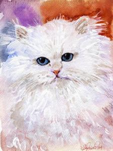 white persian cat,pets,family by Sylvia Pimental