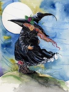 Windy Witch Halloween by sylvia pimental