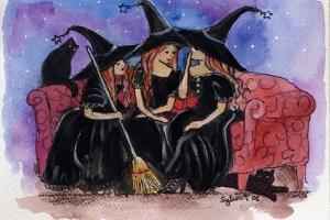 Witch Friends Halloween by sylvia pimental