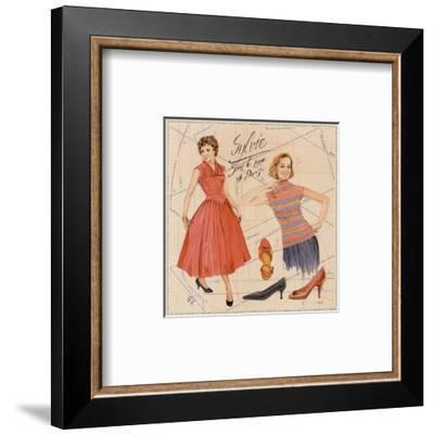 Sylvie-Laurence David-Framed Art Print
