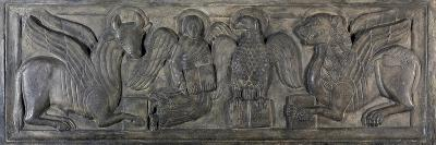 Symbol of Four Evangelists, Bas-Relief, 12th Century--Giclee Print