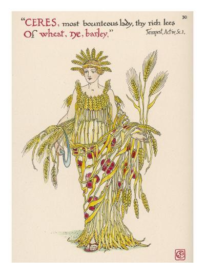 Symbol of Harvest Time--Giclee Print
