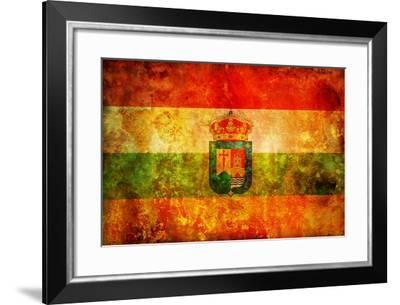 Symbol Of La Rioja-michal812-Framed Art Print
