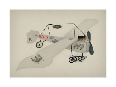 Symbolic Image of a Sport Airplane Which Has a Propeller-Dmitriip-Art Print