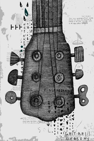 Symbolic Image of Part of a Musical Instrument-Dmitriip-Art Print