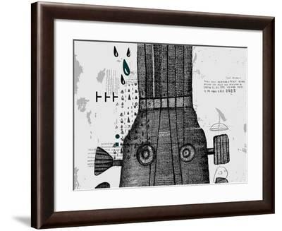 Symbolic Image of Part of a Musical Instrument-Dmitriip-Framed Art Print