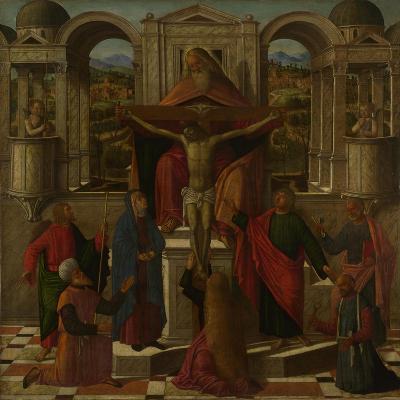 Symbolic Representation of the Crucifixion, C. 1492-Giovanni di Niccolò Mansueti-Giclee Print