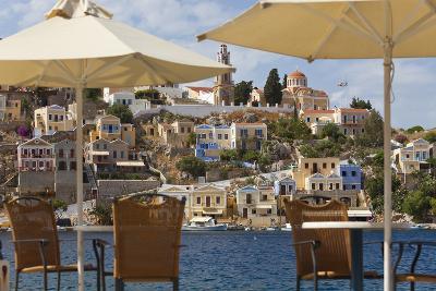 Symi Town, Symi Island, Dodecanese Islands, Greece-Peter Adams-Photographic Print